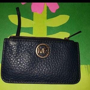 Authentic michael kors coin pouch